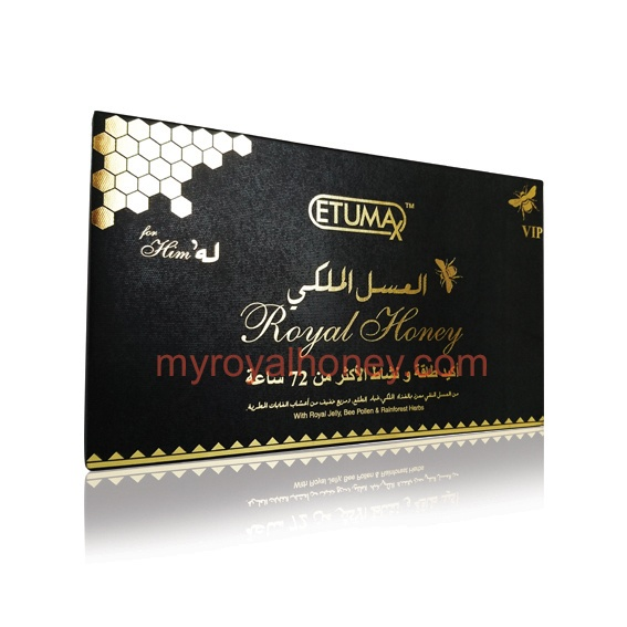 Etumax Royal Honey VIP 20 – MY Royal Honey